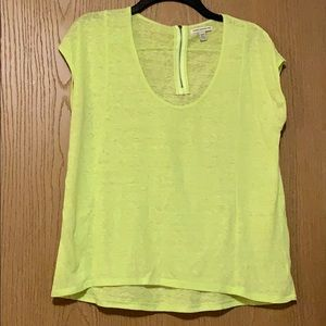 American Eagle Bright Green T-shirt - Size XS